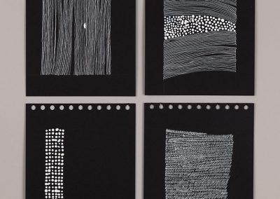Drawing – Friuli black sketch book drawings 2