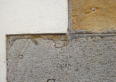 Muro: quadro ocra, Padova