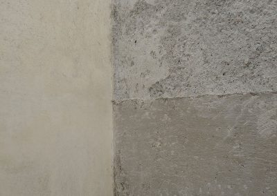 Muro: angolo, Museo Canova, Possagno