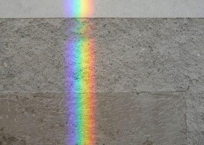 Muro: arcobaleno, Museo Canova, Possagno