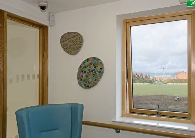Crookston Care Home, Sea worn pebbles series, Corridor West 2