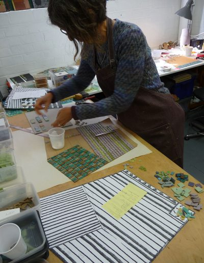 Crookston, studio, field patterns