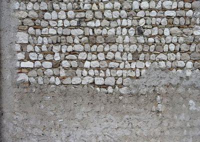 Design inspiration - Wall, pebbles & concrete, Friuli