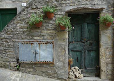 Potico, doorway