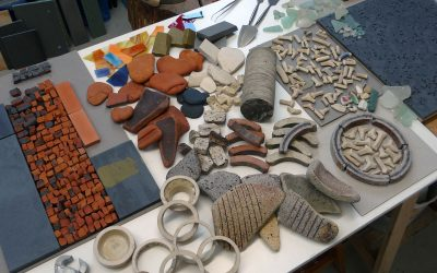 Waste Not Want Not mosaic workshop