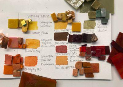 Source mosaic materials