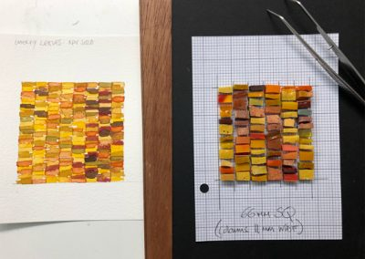 Translate your design into mosaic